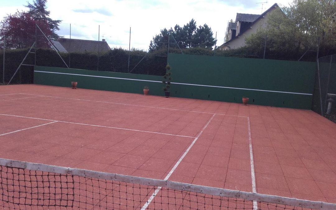 Entretien tennis clerdal à Saint-Just